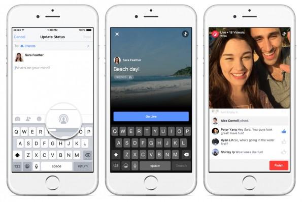 Facebook ya permite transmitir en vivo
